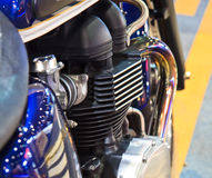 Motorcycle engine Stock Photos