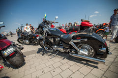 motorcycle Harley-Davidson Royalty Free Stock Images