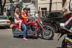 motorcycle Harley-Davidson Royalty Free Stock Photography