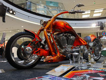 Motorcycle Exhibition Royalty Free Stock Images
