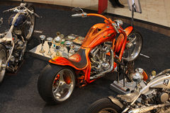 Motorcycle Exhibition Stock Images