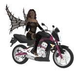 Motorcycle Fairy Stock Photo