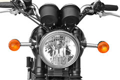 Motorcycle front light royalty free stock photos