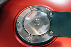 Motorcycle Fuel Tank Door Stock Photos