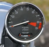Motorcycle Gauge Royalty Free Stock Photos