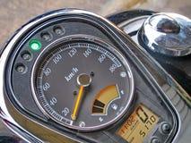 Motorcycle gauge Stock Photo