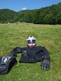Motorcycle gear Royalty Free Stock Image