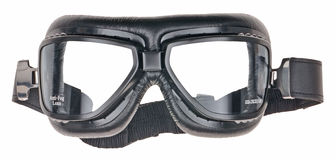Motorcycle glasses Royalty Free Stock Images