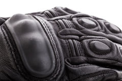 Motorcycle glove isolated. On white background Royalty Free Stock Images