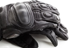 Motorcycle glove  Royalty Free Stock Photography