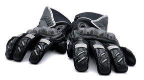 Motorcycle gloves Royalty Free Stock Image