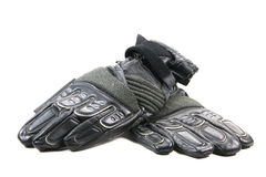 Motorcycle Gloves Royalty Free Stock Images
