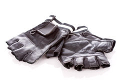 Motorcycle gloves Stock Images