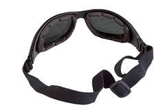 Motorcycle goggles Stock Photo