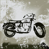 Motorcycle Grunge Royalty Free Stock Photography