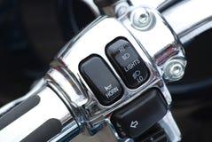 Motorcycle handlebar Royalty Free Stock Image