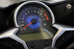 Dashboard motorcycle Royalty Free Stock Photography