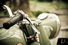 Motorcycle handlebars, Stock Photography