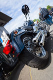 Motorcycle Harley Davidson Softail. Stock Photos