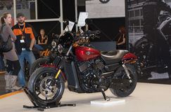 Motorcycle Harley Davidson Street 750 at International Fair for