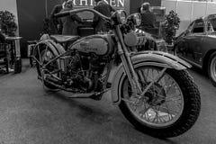Motorcycle Harley-Davidson Type JD, 1929. Royalty Free Stock Photos