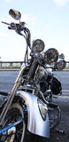 Motorcycle. Harley Davidson viewed from front Royalty Free Stock Photography