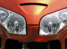 Motorcycle Headlamp - 2 Stock Photos