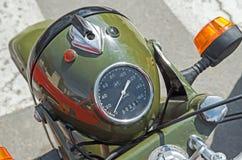 Motorcycle headlight Stock Photography