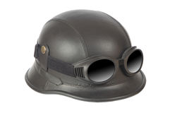 Motorcycle helmet stock photos