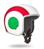 Motorcycle Helmet. On white background Stock Photos