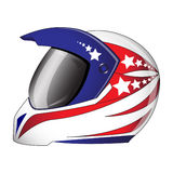 Motorcycle helmet Royalty Free Stock Images