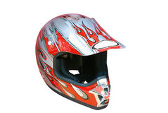Motorcycle helmet Stock Photo