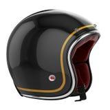 Motorcycle helmet carbon fiber Stock Image