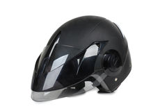 Motorcycle helmet five Stock Images