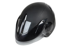 Motorcycle helmet four Stock Photos