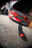Motorcycle Helmet Royalty Free Stock Photo
