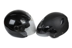 Motorcycle helmet six Royalty Free Stock Photography