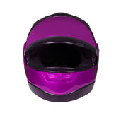 Motorcycle helmet with visor Stock Images