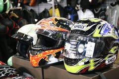 Motorcycle helmets Royalty Free Stock Image