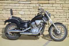 Motorcycle Honda Steed VLX Stock Images