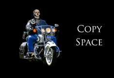 Motorcycle Horror Royalty Free Stock Photo