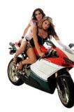 Motorcycle Hotties Stock Photo