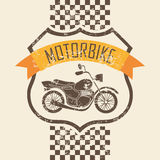 Motorcycle icon Royalty Free Stock Photos
