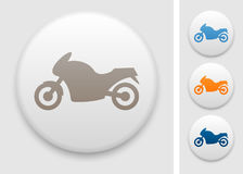 Motorcycle icon Royalty Free Stock Images