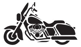 Motorcycle Icons Royalty Free Stock Image