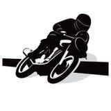 Motorcycle illustration background Royalty Free Stock Image