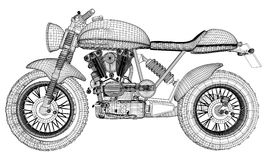 Motorcycle Illustration Vector Royalty Free Stock Images