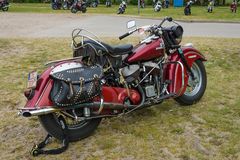Motorcycle Indian Chief Vintage Royalty Free Stock Photos