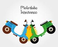 Motorcycle insurance Royalty Free Stock Photo