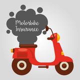 Motorcycle insurance Stock Images